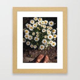 Lovely Days Framed Art Print