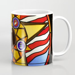United States Armed Forces Glass Mosaic Coffee Mug