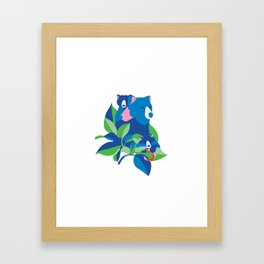 Grizzly spring Framed Art Print