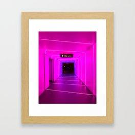 Weller Court Framed Art Print