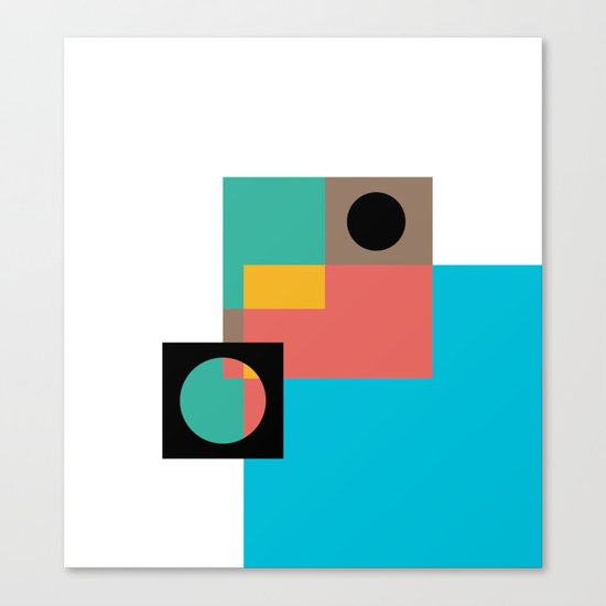 Geometric Crazy 1 Canvas Print