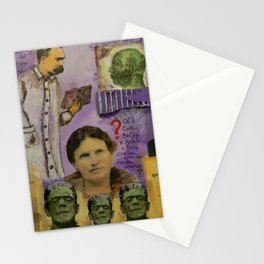 ALSO SPRACH FRANKENSTEIN Stationery Cards