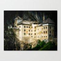 castle Canvas Prints featuring Castle by DistinctyDesign