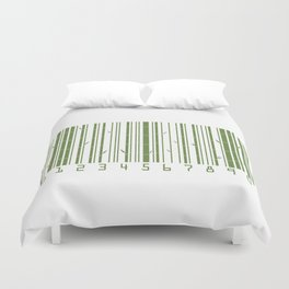 Bamboo Barcode Duvet Cover
