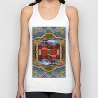 china Tank Tops featuring China. by Grant Pearce