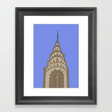 Chrysler Building , NY Framed Art Print