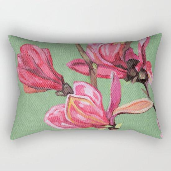 Magnolia II Rectangular Pillow
