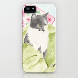 Miss Green Eyes iPhone Case
