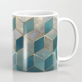 Blue Deco Coffee Mug