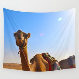Camel Face Wall Tapestry