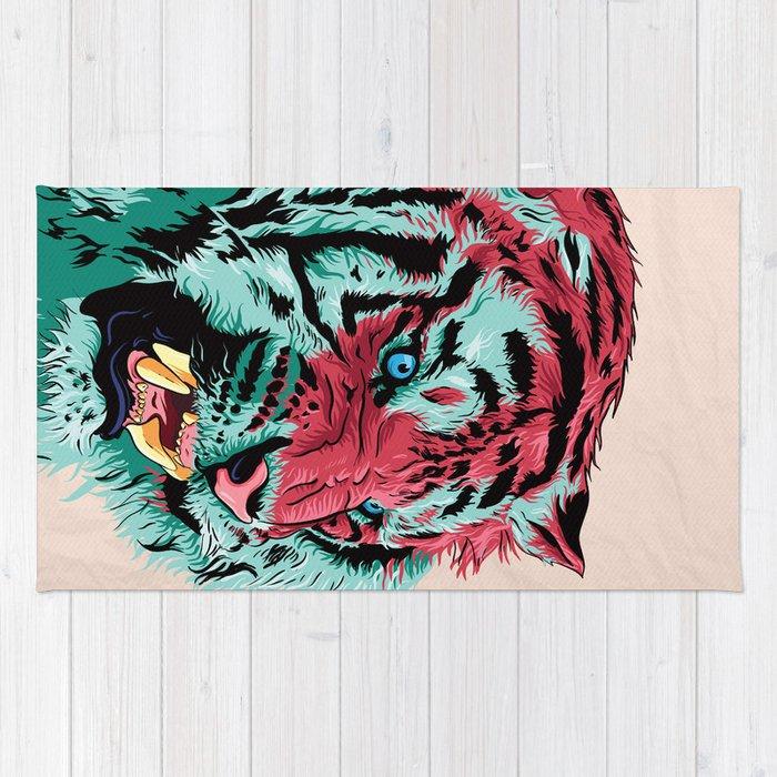 Tiger Rug By Rolandbanrevi