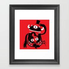 Mister Monster Framed Art Print