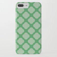 Cute green iPhone 7 Plus Slim Case