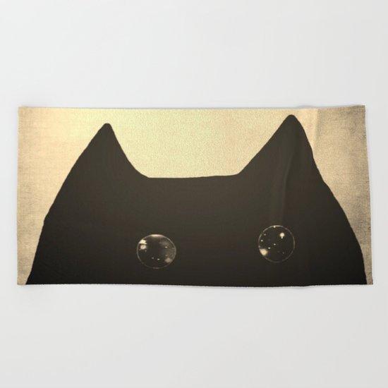 cat-43 Beach Towel