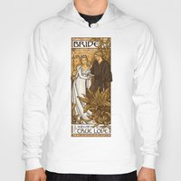 hallion Hoodies featuring Bride by Karen Hallion Illustrations