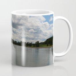 Yellowstone Lake View Coffee Mug