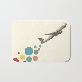 Leaving on a Jet Plane Bath Mat