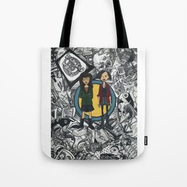 It's a Sick Sad World Daria Tote Bag