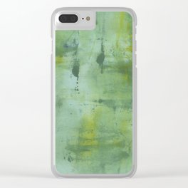Go Green Clear iPhone Case