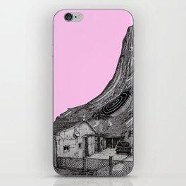 glitch house iPhone Skin
