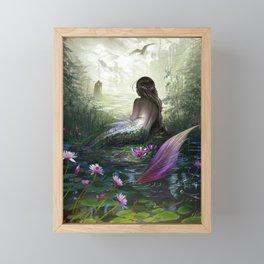 Little mermaid Framed Mini Art Print