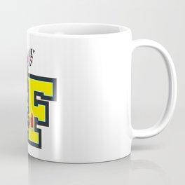 F is for Fireman Zebra Coffee Mug