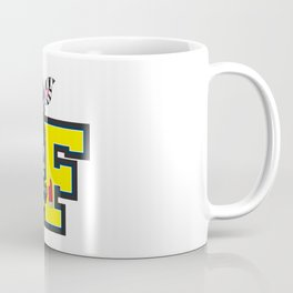 F is for Fireman Zebra Coffee Mug