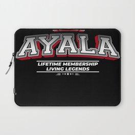 Team AYALA Family Surname Last Name Member Laptop Sleeve