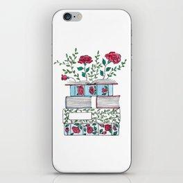 Blooming Books iPhone Skin