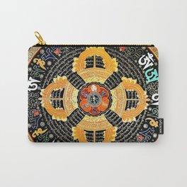 Om Mantra Mandala Tibetan Thangka Marmalade Carry-All Pouch