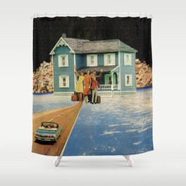 Hoarders Shower Curtain