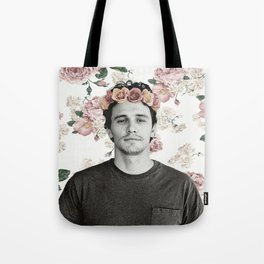 James Franco Rose Flower Crown Tumblr-Esque Tote Bag