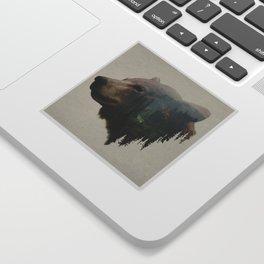 The Pacific Northwest Black Bear Sticker