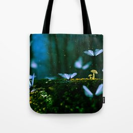 Butterflies & Mushrooms Dance Tote Bag