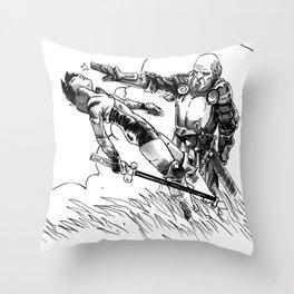 Caballero Throw Pillow