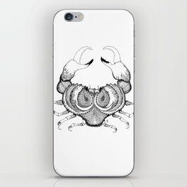 Cancer Black/White iPhone Skin