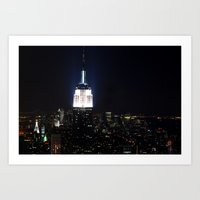 Empire State Building Art Print