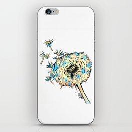 Cute dandelion iPhone Skin
