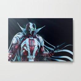 Spawn Horizontal2 Metal Print