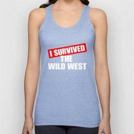 Wild West Collectible Survived Wild West Unisex Tank Top
