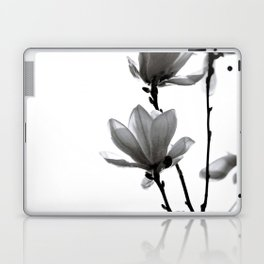 BLACK MAGNOLIA Laptop & iPad Skin