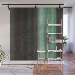 Green Leaf Overlay Wall Mural