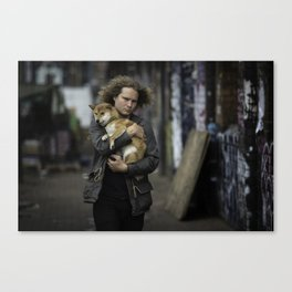 People of Shoreditch #1 Canvas Print