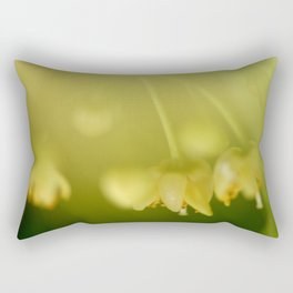 Yellow Bloom Rectangular Pillow