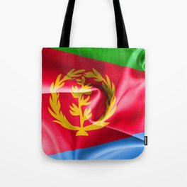 Eritrea Flag Tote Bag