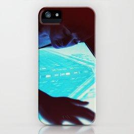 Emerald firebird iPhone Case