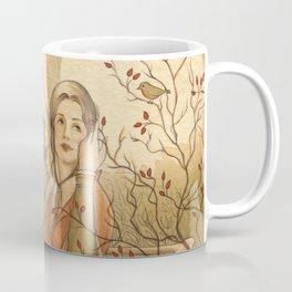 Jane Austen, Mansfield Park - the Garden Coffee Mug