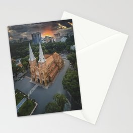 Notre-Dame Cathedral Basilica of Saigon Stationery Cards