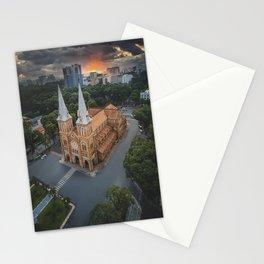 Notre-Dame Cathedral Basilica of Saigon Stationery Cards