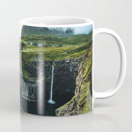 waterfall at faroe Coffee Mug